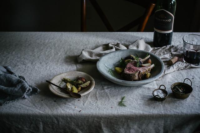 coriander fennel lamb mint chimichurri