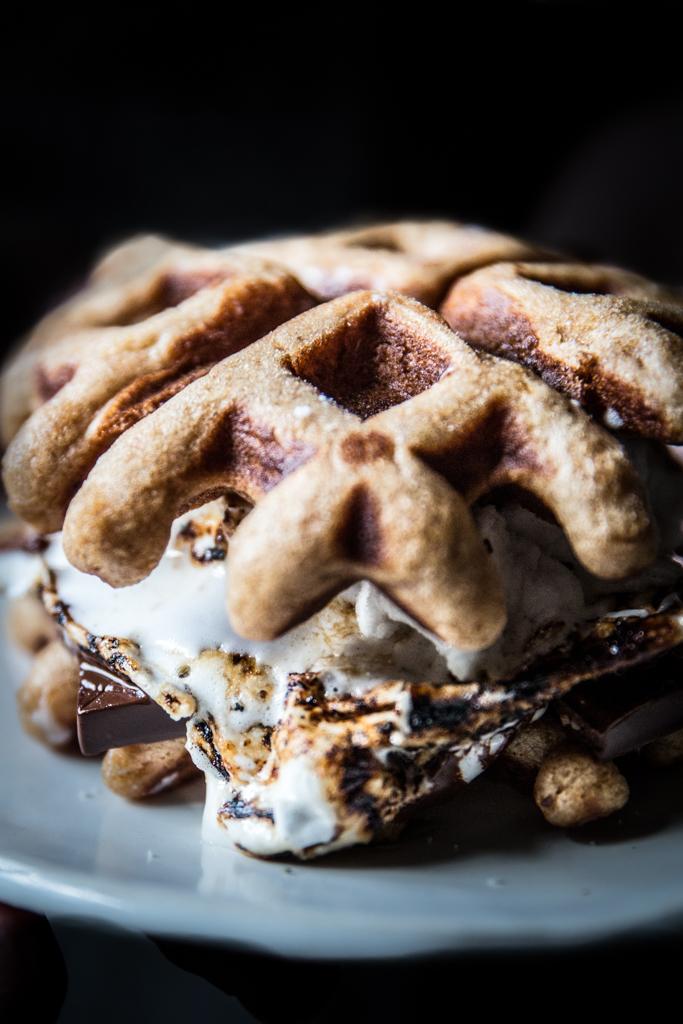 lindt smorffles - S'mores waffles recipe