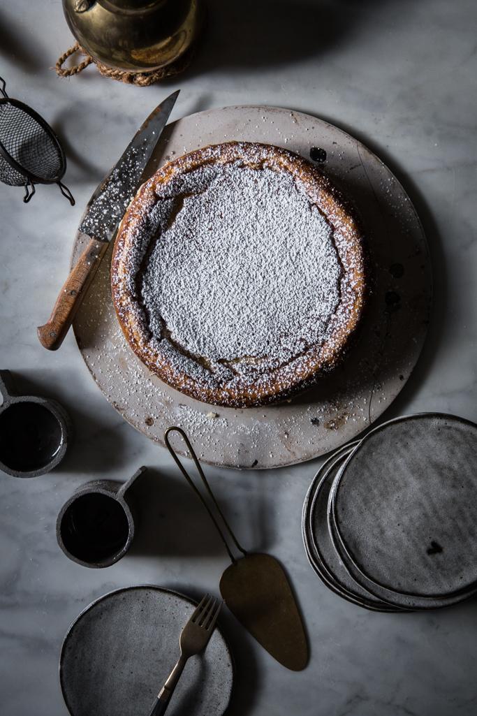 White Chocolate Ricotta Cheesecake from Local Milk Blog