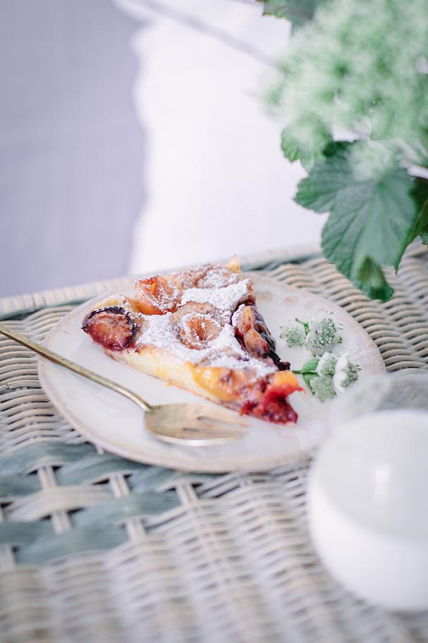 recipe for homemade fruit clafoutis