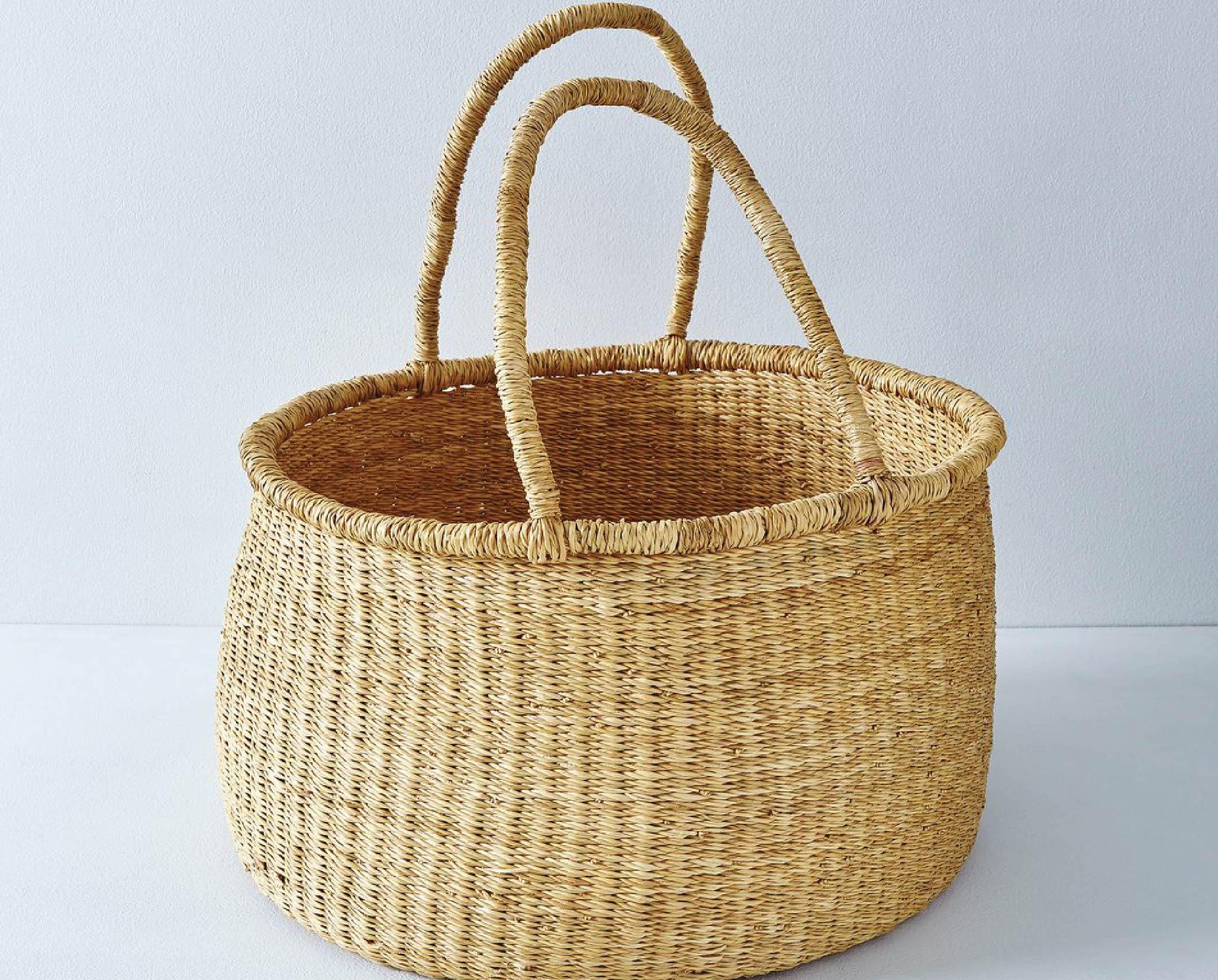 dea0dd0aba98 straw basket - Local Milk Blog