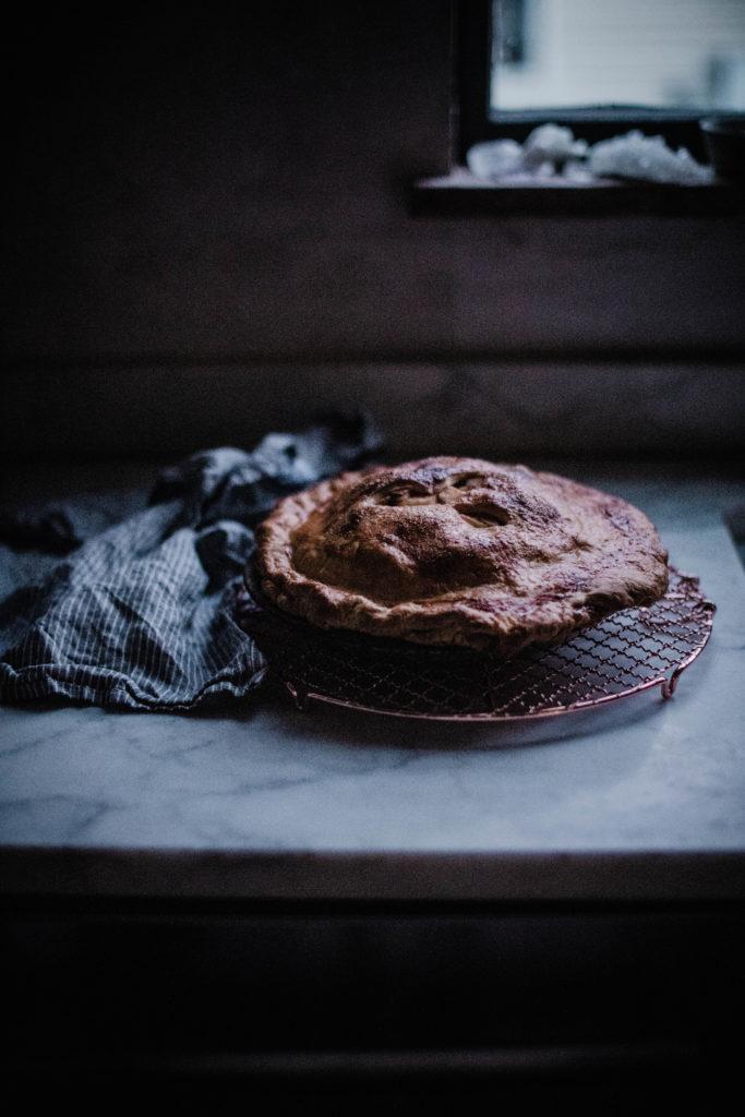 caramel brown butter apple pie recipe from scratch