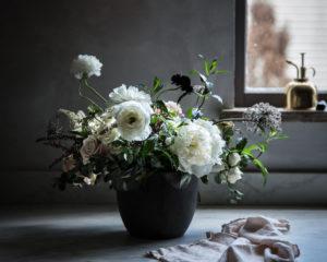 wabi sabi flower arrangement