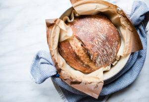 bread baking no knead